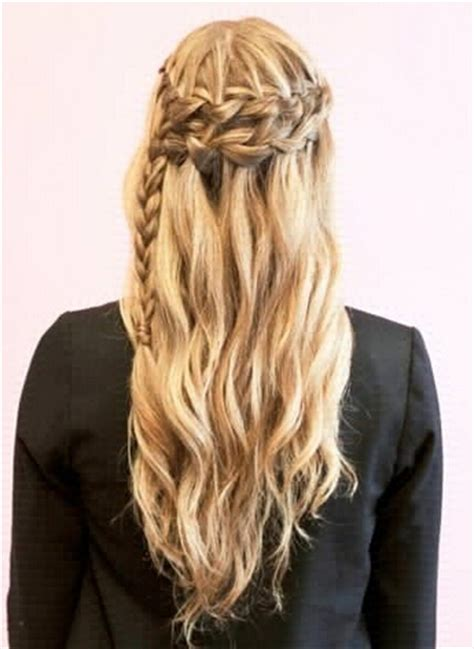 Braided And Curled Hairstyles by 17 Sweet Exquisite Braided Hairstyles Pretty Designs