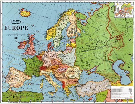 europe  map  mapsofnet