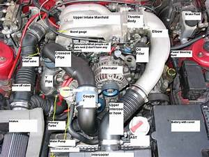 Anyone Have A Pic Of The Engine Bay Showing What Is What - Rx7club Com