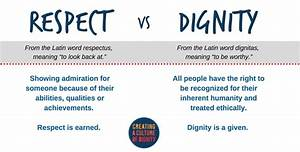 VIDEO: Respect ... Respect Definition
