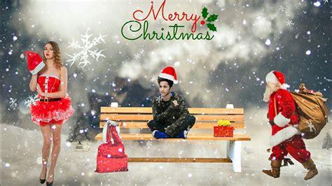 christmas photo editing merry christmas picsart manipulation tutorial santa claus picsart