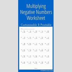 25+ Best Ideas About Multiplying Negative Numbers On Pinterest  Adding And Subtracting Integers