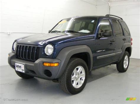 patriot jeep blue 2002 patriot blue pearlcoat jeep liberty sport 4x4