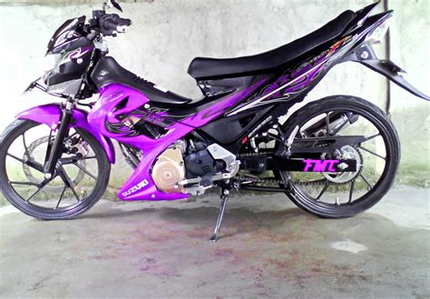 Modifikasi Motor Fu by Gambar Modifikasi Motor Satria Fu