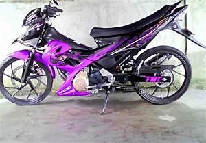 Modifikasi Motor Yamaha 2016  Foto Motor Suzuki Satria