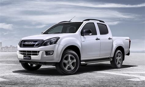 It is available in 8 colors, 4 variants, 1 engine, and 2 transmissions option: Isuzu D-MAX Sondermodell ab September erhältlich - MeinAuto.de