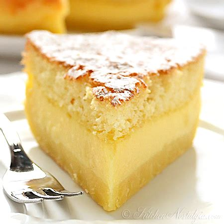 vanilla magic custard cake kitchen nostalgia