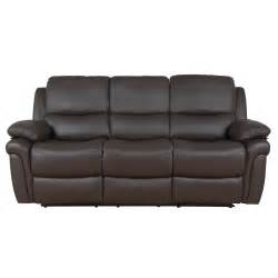 Leather Recliner Reclining Sofa