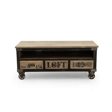 fauteuil de bureau à roulettes meuble tv industriel york 3 tiroirs