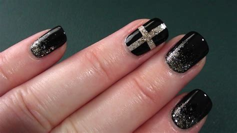 black and silver nail designs black and silver nail designs 13 high resolution wallpaper
