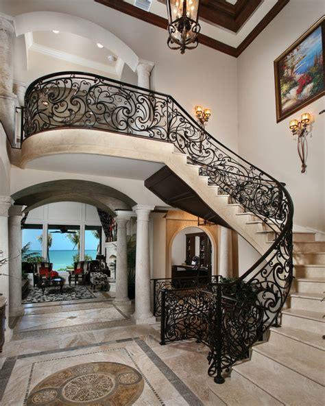 Beachfront Luxury  Mediterranean  Staircase  Miami By