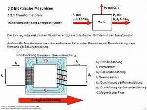 Transformator Rechnung : 1 2 3 2 elektrische maschinen transformatoren trafo ppt ~ Themetempest.com Abrechnung