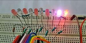 Led Chaser Running Light Project Using Arduino  Blinking