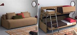 this bunk bed sofa out transforms even optimus prime With sofa turns into double bed