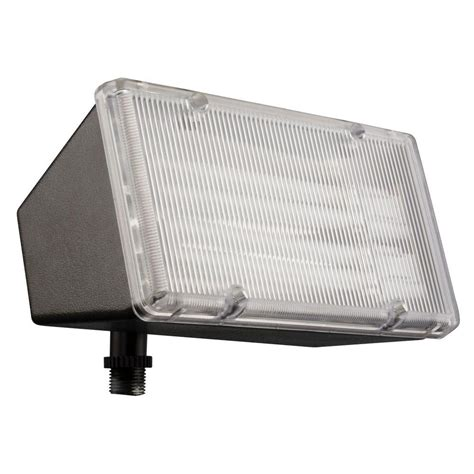 lithonia lighting 2 light wall mount outdoor bronze flood light ofl 213f 120 lp bz m4 the