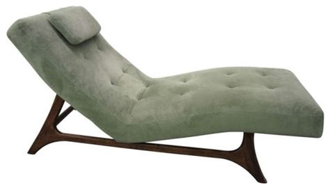 mid century modern chaise midcentury indoor chaise