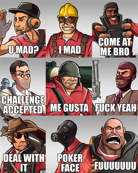 Team Fortress 2 Memes - monkey gamer reviews monday memes team fortress 2 memes