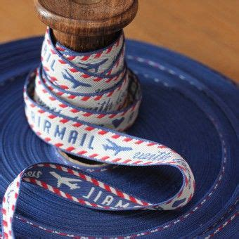 luxury airmail  love jacquard weave  ribbon craft