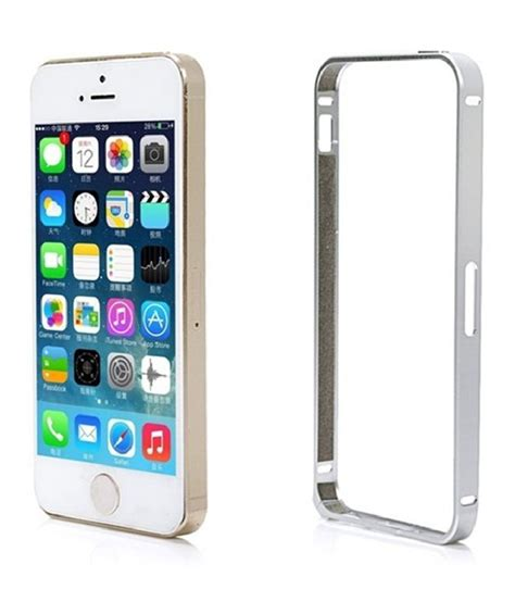 iphone 5s bumper luxury aluminum metal frame phone bumper cover