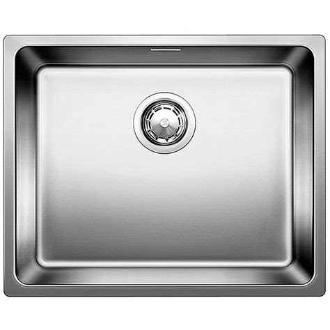 blanco kitchen sinks stainless steel blanco andano 500 if stainless steel kitchen sink 7919