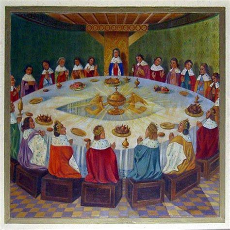 expose sur les chevaliers de la table ronde le mythe et l histoire guillaume de baskerville