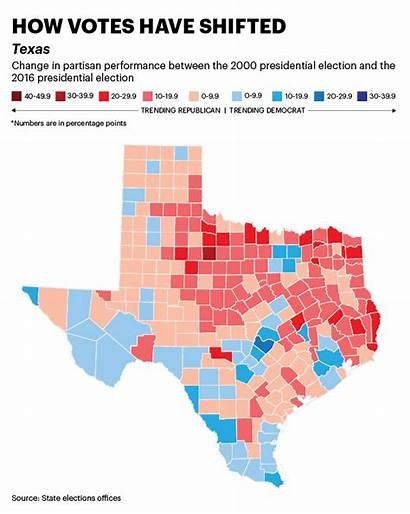 Texas Democrats Politics State Demographic Vote Trends
