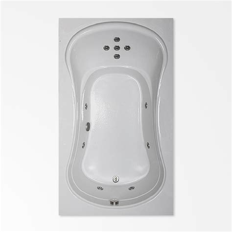 whirlpool bath  hg comfortflo acrylic