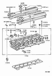 Toyota Supra Engine Valve Cover Gasket  Cover  Cylinder