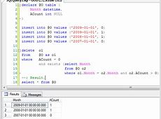sql Table Variables with an Alias in a Delete From