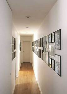 12 idees deco pour styliser un couloir long etroit ou for Idee deco couloir etroit