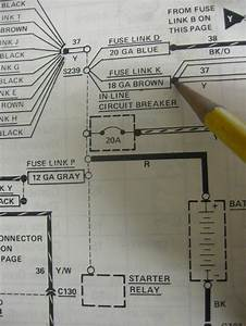 95 Lincoln Town Car 4 6 Fuel Wiring Diagram Color Coded