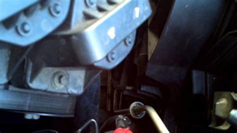 radiator transmission  removal   buick regal