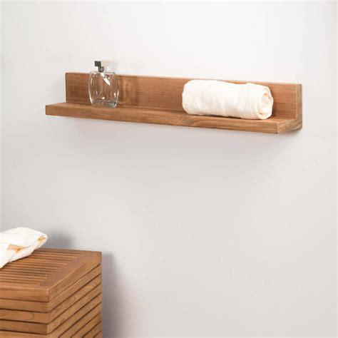 tablette 233 tag 232 re 233 lia salle de bain en teck massif 70cm 626