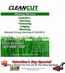 free lawn mowing flyer template the letter sample With landscaping flyers templates