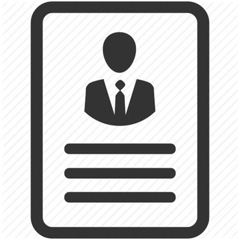 resume icon png human resources by siwat v