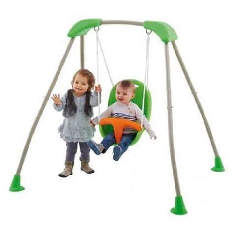 siège bébé balançoire balancoire portique amca bébé pliable et siège coque