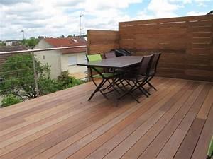 Terrasses En Vue : construction terrasse en bois sur pilotis avec escalier ~ Melissatoandfro.com Idées de Décoration