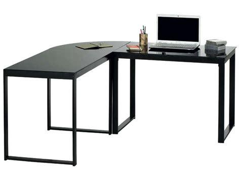 bureau noir conforama bureau d 39 angle blacky coloris noir vente de bureau