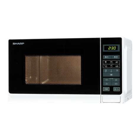 Microwave oven, Sharp, R242WE