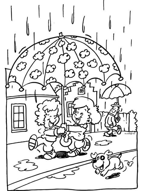 Kleurplaat Puk Herfst by Pin Paraplu Kleurplaten En Knutselen Schoolplatencom On