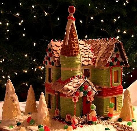 gingerbread house patterns templates holidays
