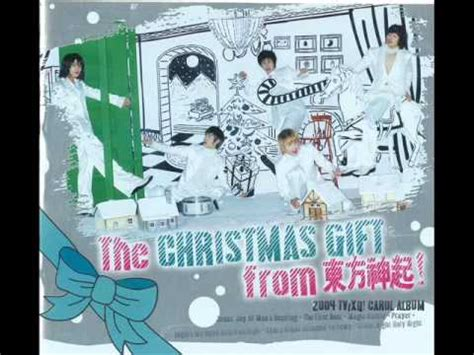 christmas ideas that start with a r 2004 tvxq special album the gift from 東方神起