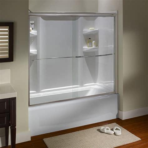 american standard euro frameless sliding tub shower doors