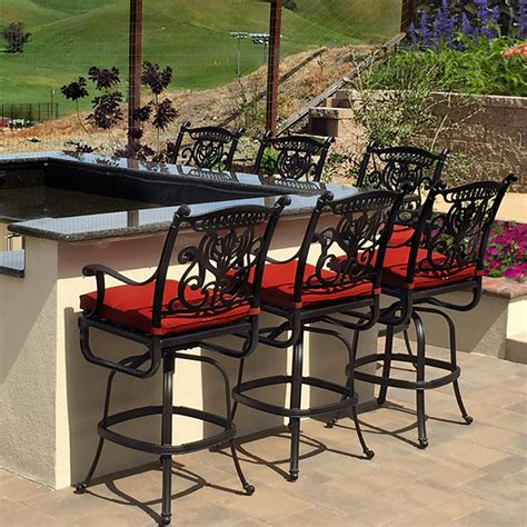 grand tuscany hanamint outdoor bar stool family leisure