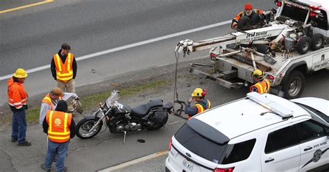 Fatal Motorcycle Crash On I-5 In Seattle Causes Huge