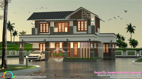 home design consultant modern home by imagine construction consultants kerala
