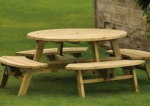 Table De Jardin En Bois Pas Cher : table de jardin en bois quel salon de jardin choisir ~ Teatrodelosmanantiales.com Idées de Décoration