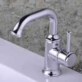 Chrome single handle centerset bathroom sink tap t0534 for Hr bathroom taps