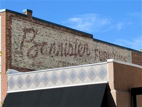 bannister furniture grand junction  ghost signs