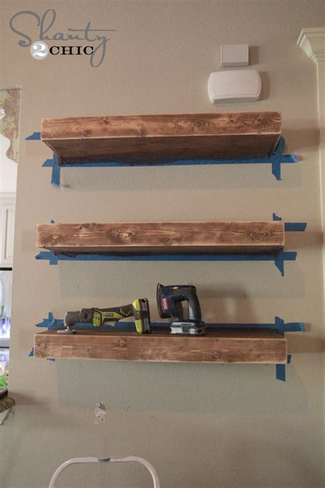 how to mount a shelf diy floating shelves